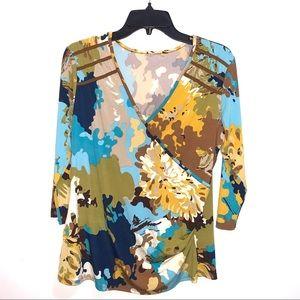 🌷5/$20 Women's Floral Blouse